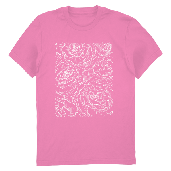 [PRE-ORDER] Ceremony Floral Tee (Pink) (Ships week of Aug. 27th, 2021) thumb