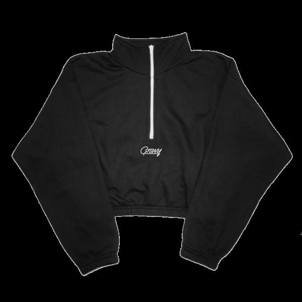 Gravy Half-Zip Fleece (Black) thumb