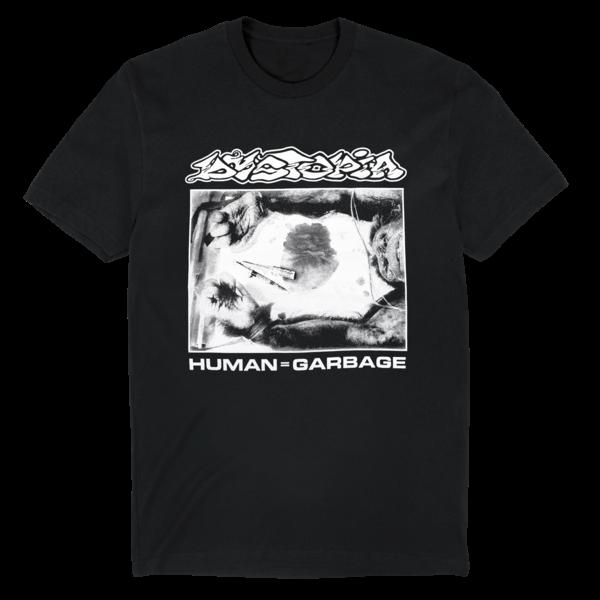 Dystopia: Human = Garbage T-Shirt (Black) thumb