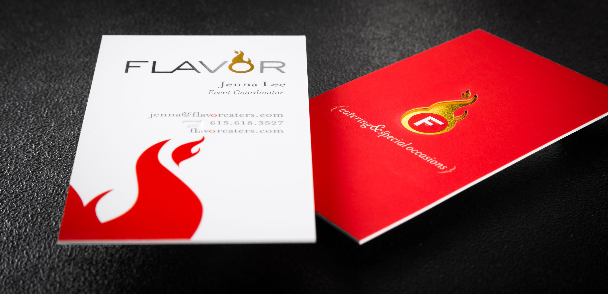 Custom online business card plastic card printing 4colorprint 32pt suede laminated cards custom die cut gold foil embossing reheart Gallery