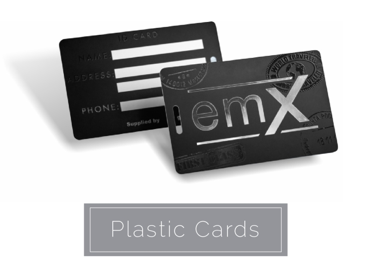 Custom online business card plastic card printing 4colorprint featured products reheart Image collections