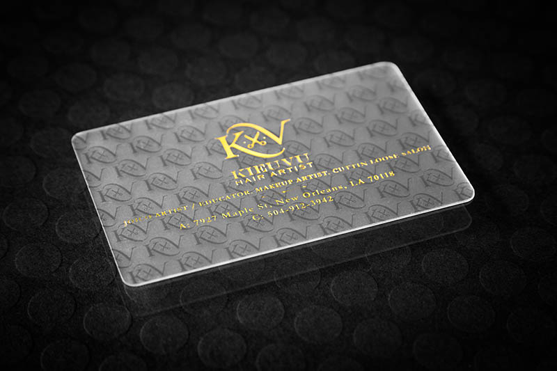 Frosted plastic cards frosted and clear plastic cards silkcards frosted plastic cards with gold foil colourmoves