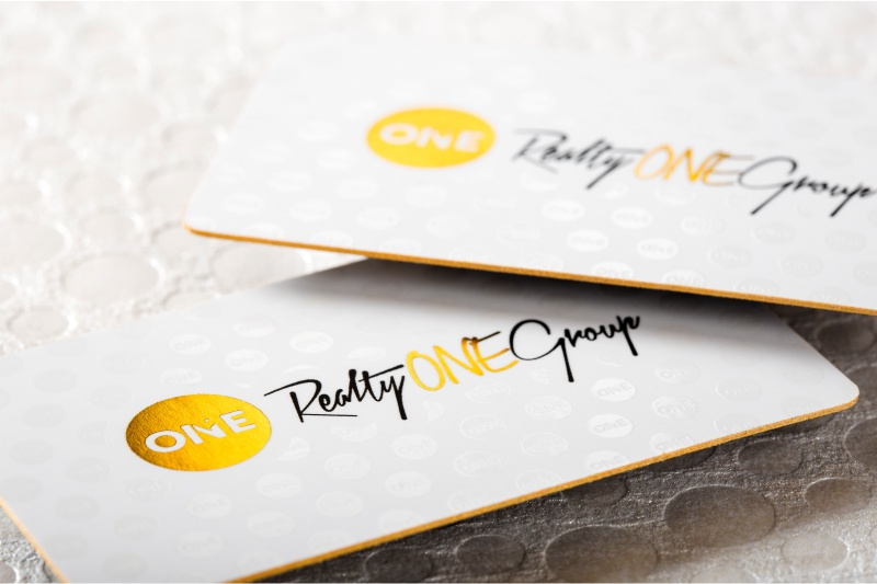 Thick business cards luxury customized double layered thick silk business cards with gold foil spot uv and gold colored edges colourmoves
