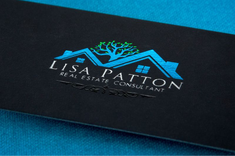 Foil business cards add a shine to your cards 4colorprint onyx suede business card with spot uv and blue foil colourmoves