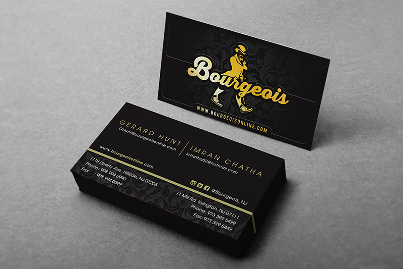 Our design philosophy is not just designing the card but matching the proper stock and add ons to best suit your brand