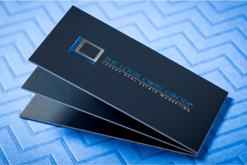 Suede laminated business cards sophisticated elegance 4colorprint thick suede business cards with embossing foil and colored edges colourmoves