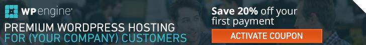 WP Engine - Premium WordPress Hosting for your company customers