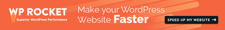 WP Rocket - Make WordPress Load Fast in a Few Clicks