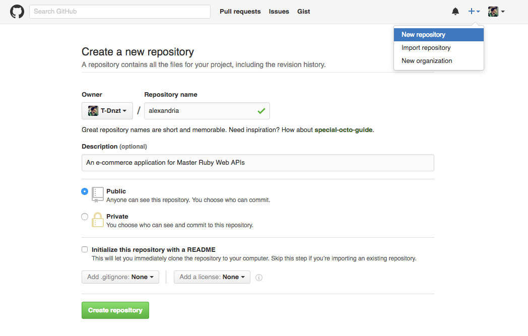 Alexandria: Setup Time - Master Ruby Web APIs