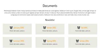 Homeowners Association WordPress Theme - Community Documents