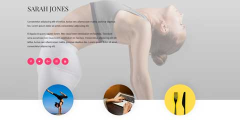 Yoga Instructor Astra Starter Site - About page
