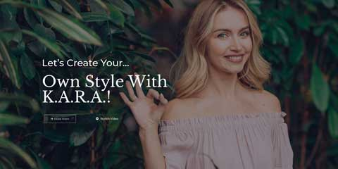 Fashion Blog Astra Elementor Starter Site - Bright, friendly design