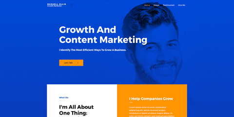 Marketing Astra Starter Site - Sleek design