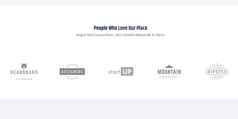 Co-Working Space Astra Starter Site - Display client logos