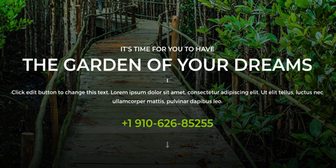 Garden Astra Starter Site - Call-to-action on every page