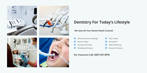 Dental Clinic Astra Starter Site - Services overview