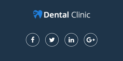 Dental Clinic Astra Starter Site - Integrated social media