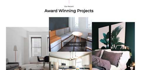 Architect Astra Starter Site - Project overview page