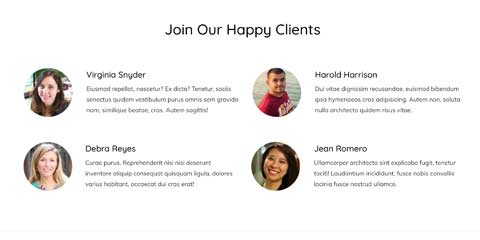 Cleaning Services Astra Starter Site - Testimonials
