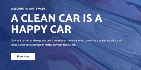 Car Wash Astra Elementor Starter Site - Bright calls-to-action