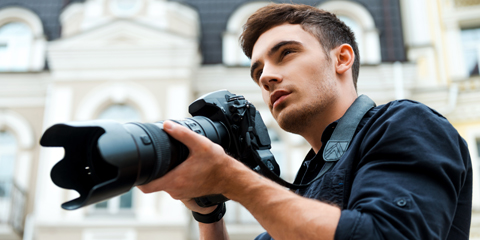 Photographer Astra Elementor Starter Site - For photographers