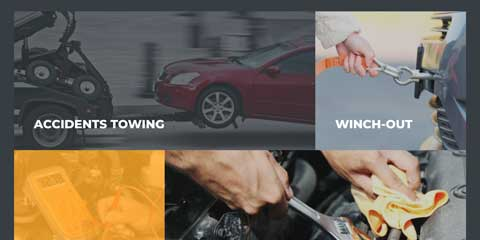 Towing Astra Elementor Starter Site - Services overview