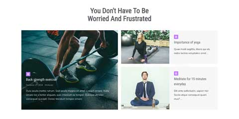 Weight Loss Astra Elementor Starter Site - Full-blown news section
