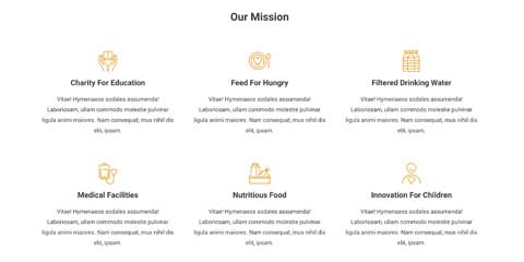 Charity Astra Starter Site - Service overview
