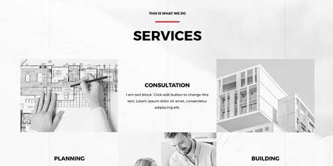 Architecture Firm Astra Elementor Starter Site - Service overview