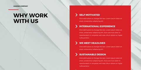 Architecture Firm Astra Elementor Starter Site - Unique Selling Proposition