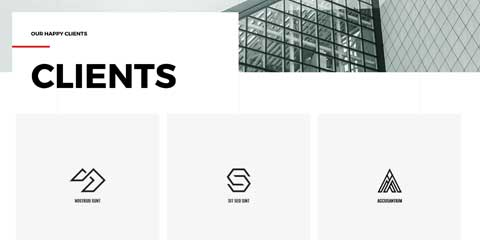 Architecture Firm Astra Elementor Starter Site - Clients page