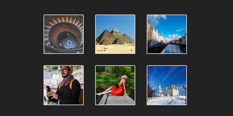 Travel Guide Astra Elementor Starter Site - Image gallery