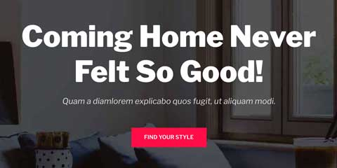 Home Decor Astra Elementor Starter Site - Strong calls-to-actions