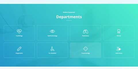 Medical Clinic Astra Starter Site - Convenient services overview