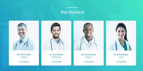 Medical Clinic Astra Starter Site - Introduce your company