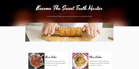 Sweet Shop Astra Starter Site - Clean, accessible design
