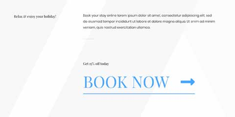 Hotel Astra Elementor Starter Site - Call-to-actions