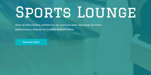 Sports Bar Astra Elementor Starter Site - Call-to-actions