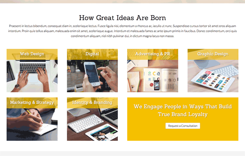 Ad Agency WordPress Theme - Your services online