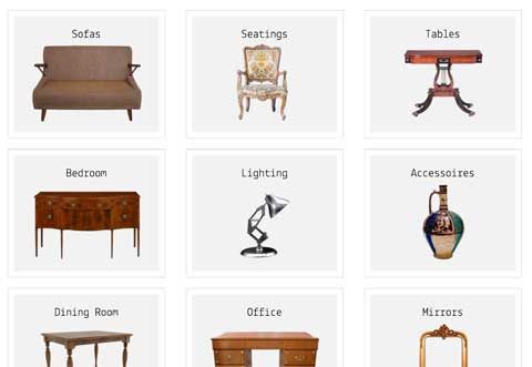 Antiques WordPress Theme - One-glance overview