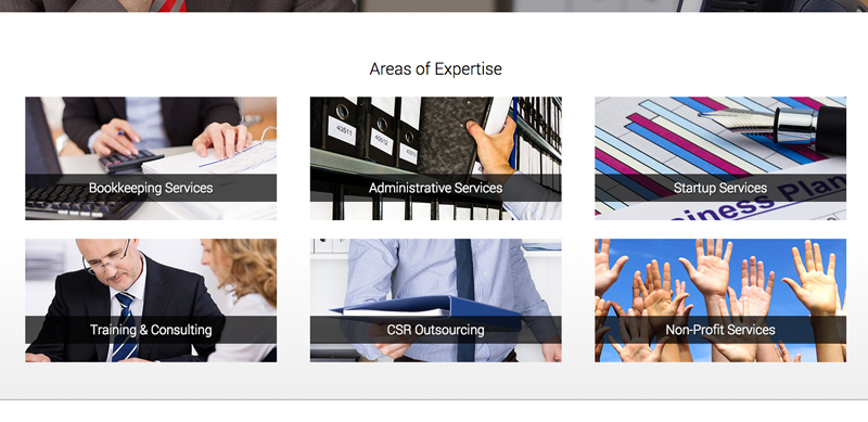 Bookkeeping WordPress Theme - Your services online