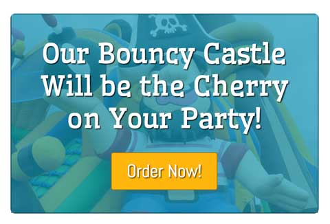 Bouncy Castle WordPress Theme - Eye-catching call-to-actions