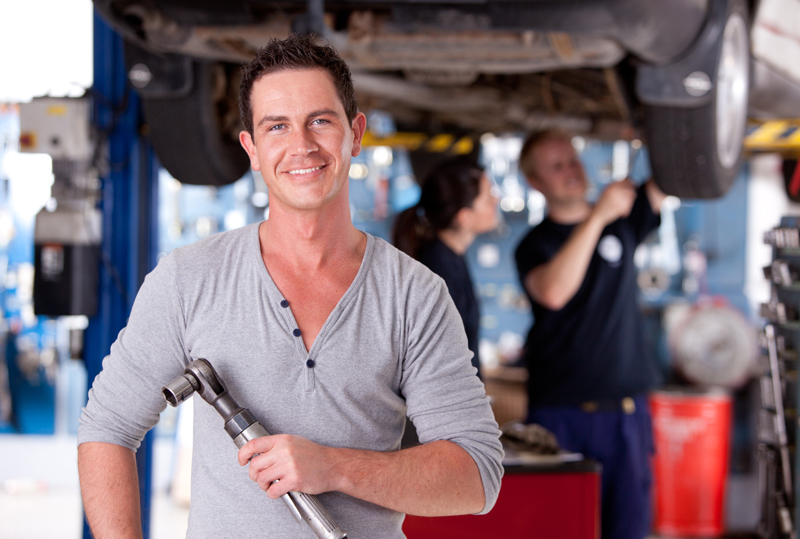 Car Mechanic WordPress Theme - For service station owners