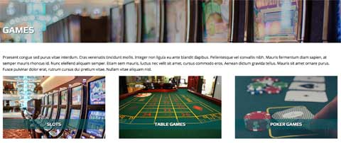 Casino WordPress Theme - Solid detail pages