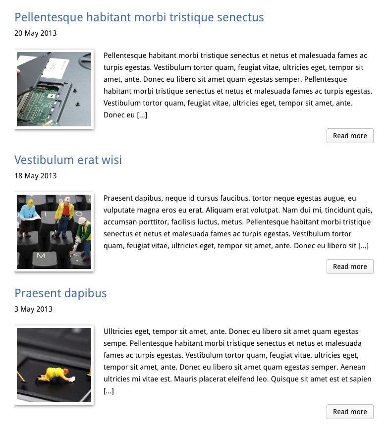 Computer Reparatie WordPress Thema - Krachtig blog thema