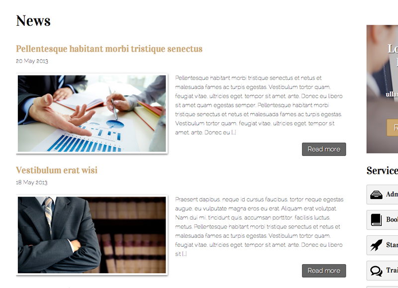 CPA WordPress Theme - Classic blog included