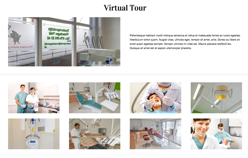 Dental Clinic WordPress Theme - Image gallery