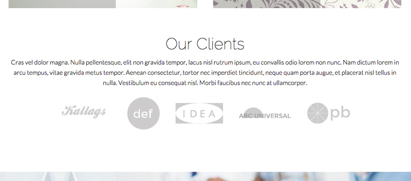 Graphic Design WordPress Theme - Build trust