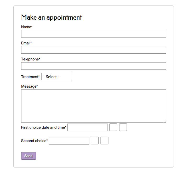 Hair Stylist WordPress Theme - Online appointment setting