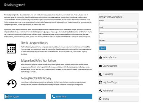 IT Consulting WordPress Theme - Solid detail pages